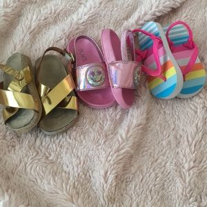 Children's Place Shoes - Girls Toddler Size 6 sandals
